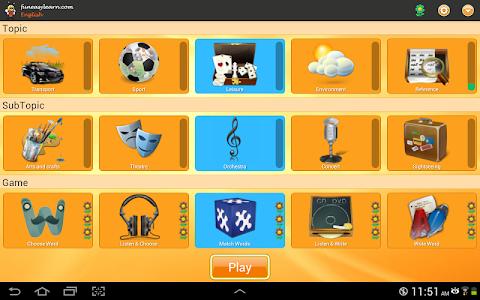 screenshot of Learn English 6000 Words version 2.74