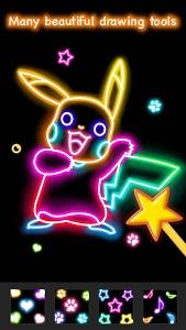 Download Learn to Draw Glow Cartoon 1.0.1 APK