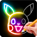 Download Learn to Draw Glow Cartoon 1.0.1 APK