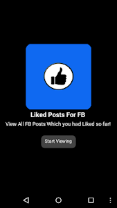 Download Liked Posts For FB 1.2 APK