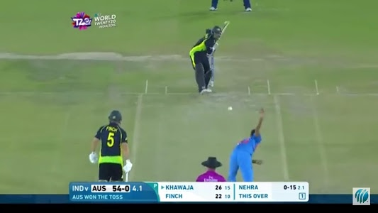 screenshot of Live Cricket TV version 1.5