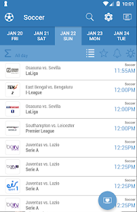 Download Live Sports TV Listings Guide 2.53 APK