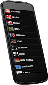 screenshot of LiveStream TV - Watch TV Live version 2.1.5