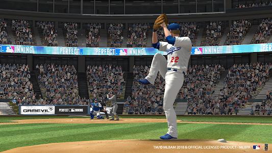 screenshot of MLB Perfect Inning 2018 version 2.0.8