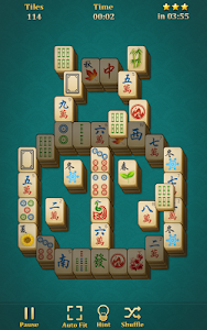 screenshot of Mahjong Solitaire: Classic version 1.7.5