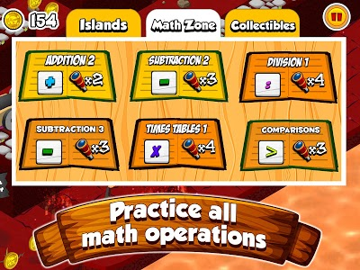 screenshot of Math Land: Addition Games for kids version 1.9