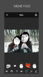 screenshot of Meme Faces: Rage Comics Maker version 3.6