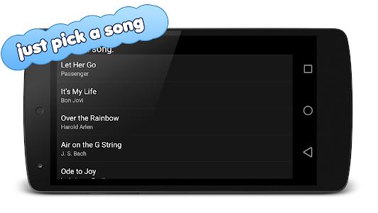 screenshot of Mini Piano version 20180811