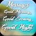 Download Good Morning, Good Evening, Good Night Messages 1.2 APK