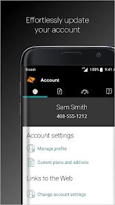 screenshot of My Boost version 6.8.008