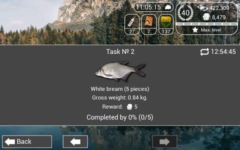 screenshot of My Fishing HD 2 version 1.4.60