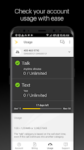 screenshot of My Sprint version Varies with device