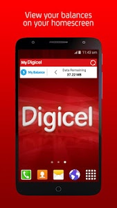 screenshot of My Digicel version Varies with device