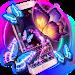 Download Neon butterfly keyboard 10001002 APK