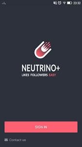 screenshot of Neutrino+ version 1.9.1