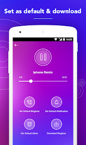 screenshot of New Ringtones Free 2019 version Varies with device