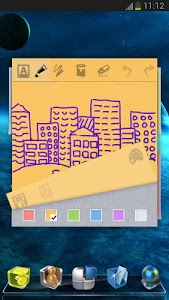 Download Next Launcher 3D Note Widget 1.06 APK