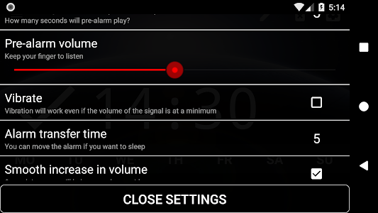 Download Good alarm clock without ads with music and widget 1.1 APK