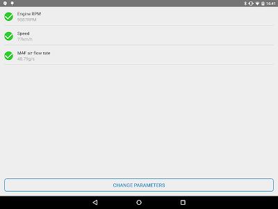 screenshot of Obd Arny - OBD2 | ELM327 simple car scan tool version 0.99