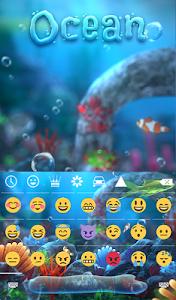 Download Ocean Animated Keyboard 2.15 APK