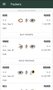 Download Official Green Bay Packers 3.2.3 APK