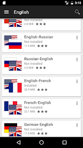 Download Offline dictionaries  APK