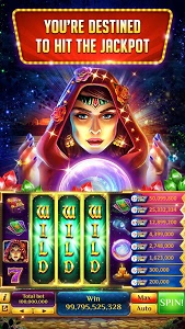 screenshot of Vegas Downtown Slots™ - Slot Machines & Word Games version 3.96