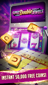 screenshot of Vegas Words – Downtown Slots & Word Puzzle version 3.44.2