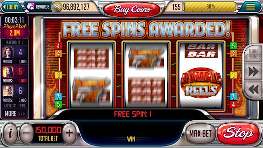screenshot of Free Slot-Vegas Downtown Slots version 3.44.2
