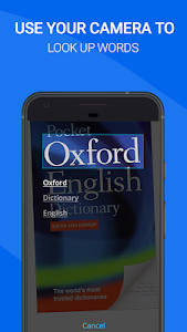 screenshot of Oxford Dictionary of English : Free version 10.0.410