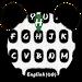 Download Cute Panda Keyboard Theme 8.2 APK