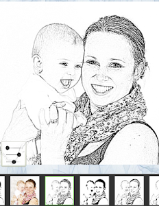 screenshot of Photo To Pencil Sketch Effects version 3.4