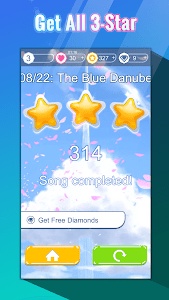 screenshot of Anime Music Tiles: Piano Dream version 1.50