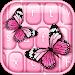 Download Pink Butterfly Keyboard 3.0.1 APK