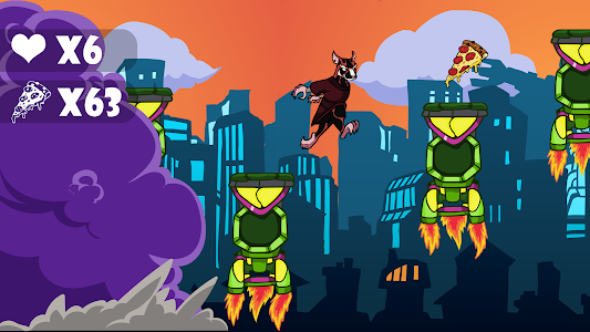 screenshot of Pizza adventure ninja turtle version 1.0