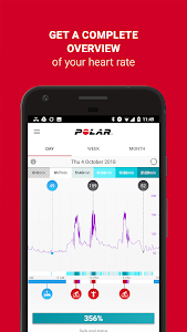 screenshot of Polar Flow – Sync & Analyze version Varies with device