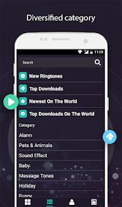 screenshot of Popular Ringtones 2019 version Varies with device