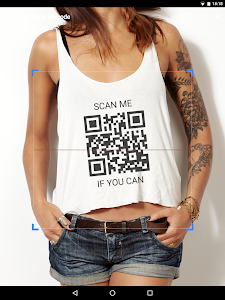 screenshot of QR & Barcode Scanner version Varies with device