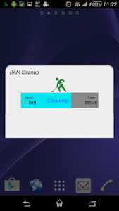 screenshot of RAM Cleanup version 5.6