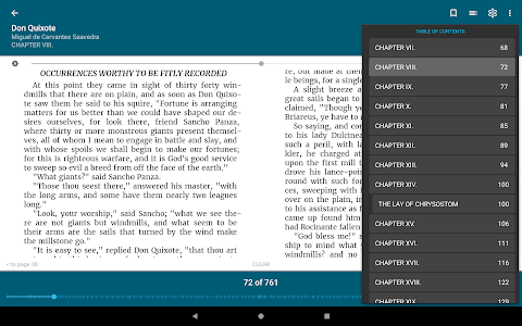 screenshot of ReadEra - epub, pdf, docx ebook reader version 19.01.10+730