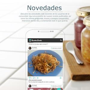 screenshot of Recetas de cocina gratis – Tu comunidad de cocina version 10.5.13
