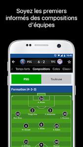 screenshot of Résultats Foot en Direct version 4.3.2