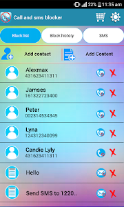 Download SMS blocker, call blocker 1.18.3796.01 APK