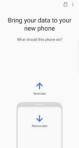 screenshot of Samsung Smart Switch Mobile version 3.6.00.17