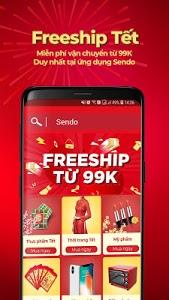 screenshot of Sendo: Mua Sắm Tết version 4.0.8