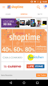 screenshot of Shoptime version 2.9.1
