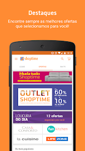 screenshot of Shoptime version 2.35.1