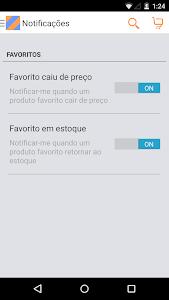 screenshot of Shoptime version 1.6.5