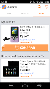 screenshot of Shoptime version 1.0.6
