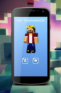Download Skins Youtubers MineWorld 2.0.3 APK